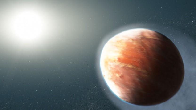 Exoplanet Wasp-121b: effizienter Mechanismus für Massenverlust