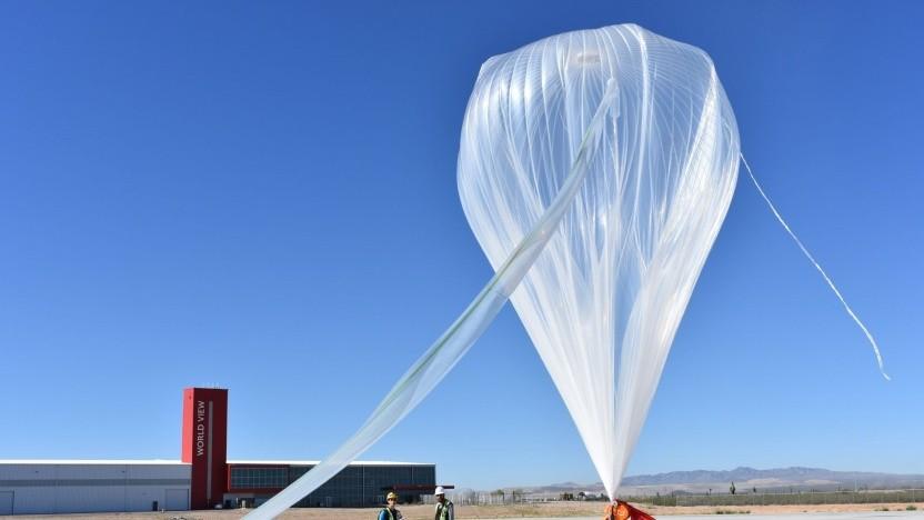 Höhenballons der Nasa (Symbolbild) können unbemannt und lange im Einsatz sein.