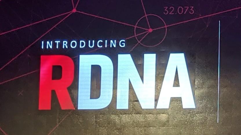 Logo von RDNA