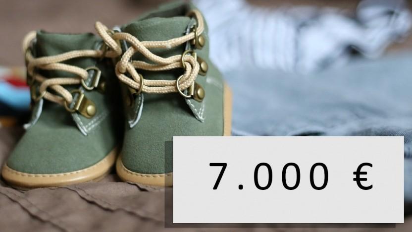 Ein Käufer hat 7.000 Euro für Produktbilder ausgegeben.
