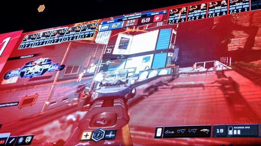 Call of Duty bei einem E-Sport-Turnier