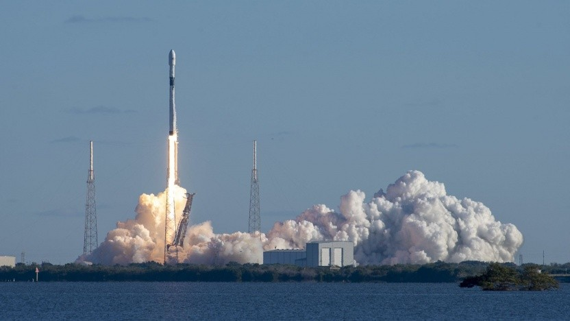 Start einer SpaceX-Rakete (Symbolbild)