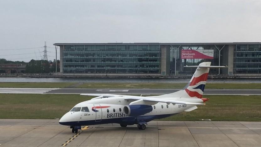 Während Gatwick und Heathrow viele Probleme hatten, lief der Betrieb in London City normal. (Symbolbild)