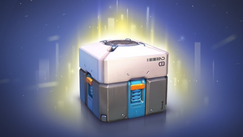 Artwork von Lootbox in Overwatch