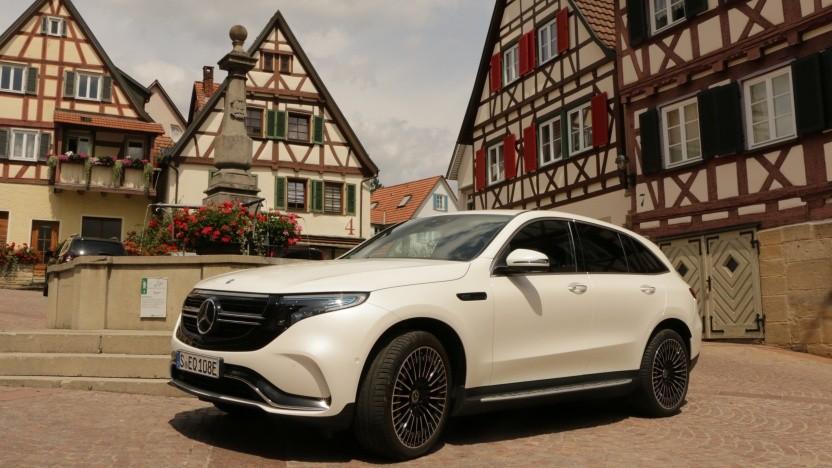 Video: Der neue Mercedes EQC ist die schwäbische Antwort auf Tesla und Audi.