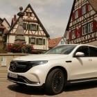 Probefahrt mit Mercedes EQC: Ein SUV mit viel Wumms und wenig Bodenfreiheit