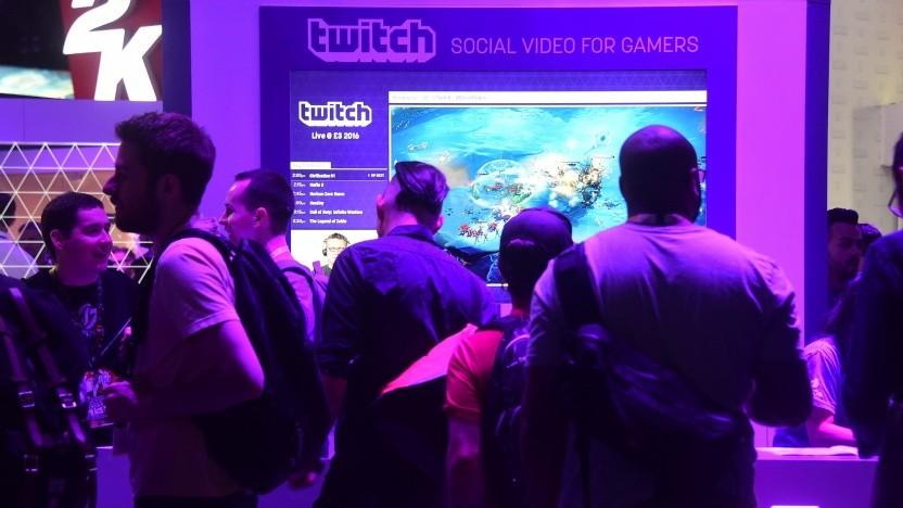 Twitch auf der Spielemesse E3