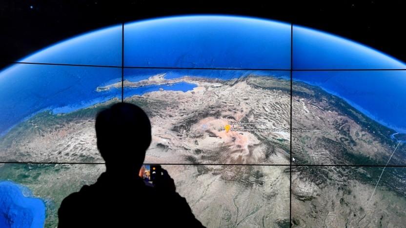 Digitale Weltkarten sind zwar beeindruckend, aber nicht immer korrekt.