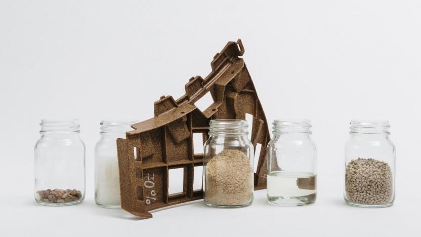 Naturfaser-Verbundwerkstoff: Ein Großteil der Kunststoffe kann durch biobasierte ersetzt werden.