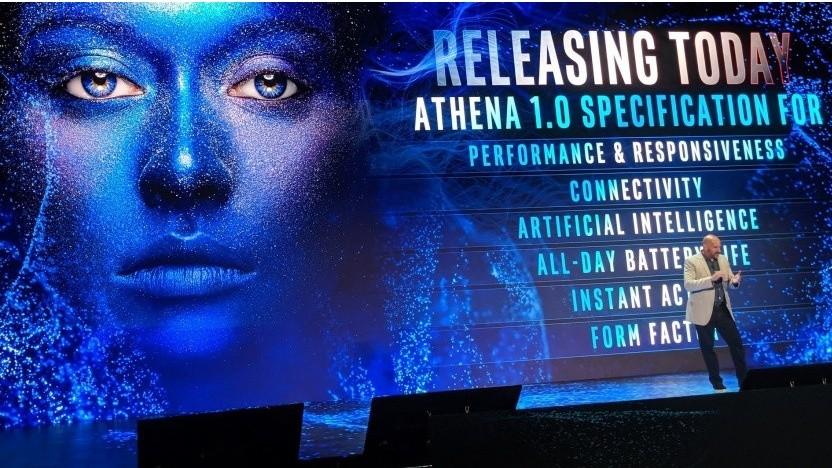 Athena ist Intels neue Marketingrichtlinie.