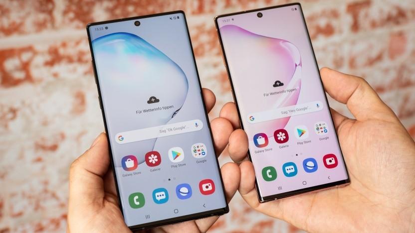 Samsung möchte, dass jeder vom neuen Galaxy Note 10 erfährt.