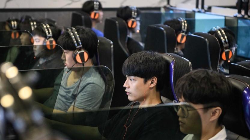 Computerspieler in Südkorea
