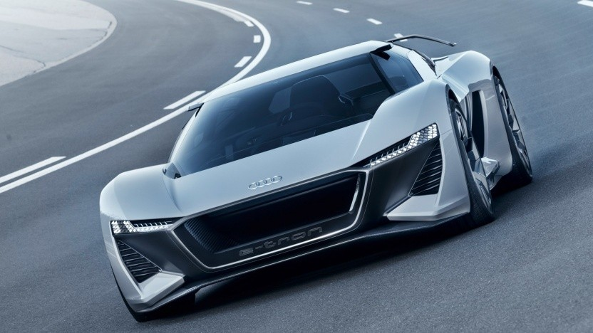 Audis Elektrosportwagen PB 18 E-Tron: identisch mit dem RS E-Tron?