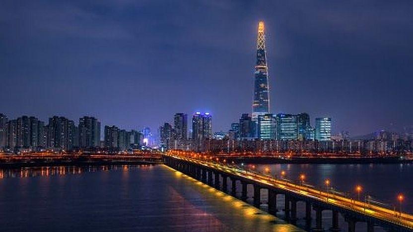 5G-Netz in Seoul, Südkorea