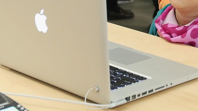 Wer ein Macbook dieser Form hat, sollte sich informieren, auch wenn dieses 2012er-Modell nicht betroffen ist.