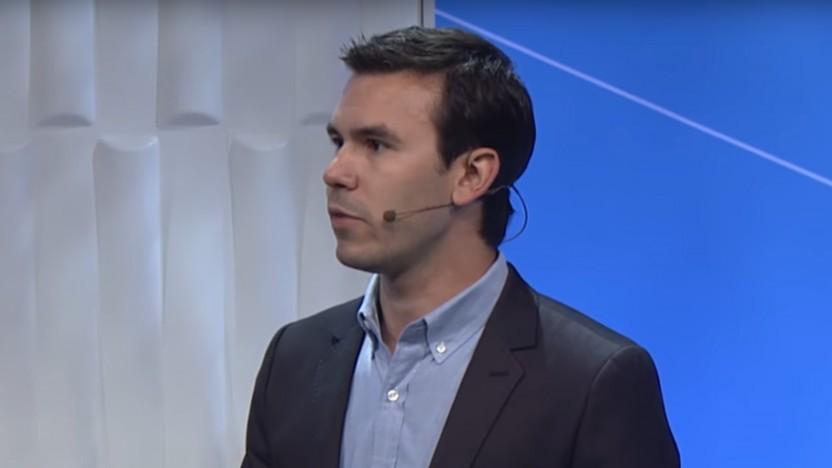 Nate Mitchell auf der Oculus Connect 2014