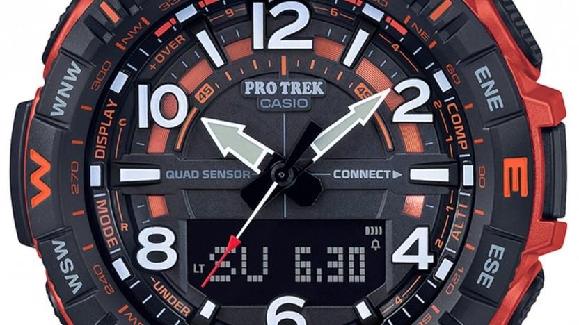 Die neue Pro Trek PRT-B50 von Casio