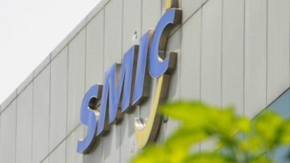 SMIC-Logo am Firmengebäude