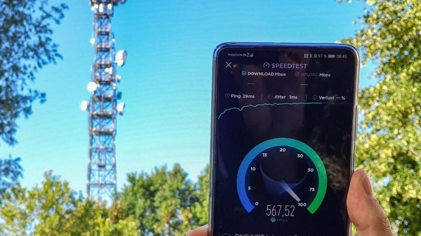 5G-Netz von Vodafone
