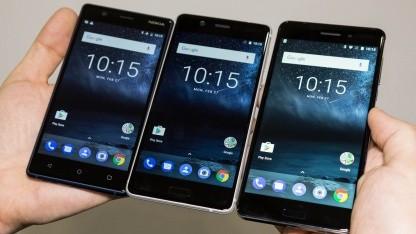 Nokia-Smartphones von HMD Global