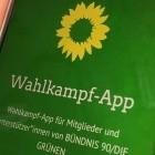 Datenschutz: Kritik an Wahlkampf-App der Grünen