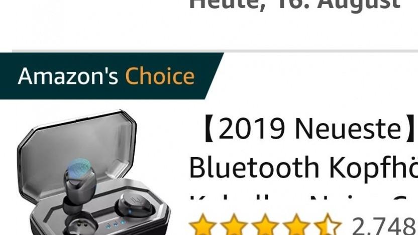 Was unter Amazon's Choice läuft, wird gern gekauft.