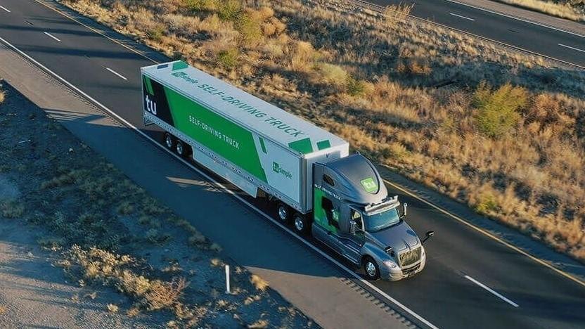Autonom fahrender Truck von Tusimple: 30 Prozent geringere Transportkosten