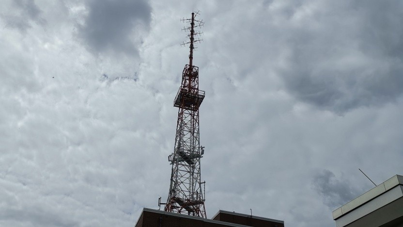 5G-Antenne der Telekom in Berlin