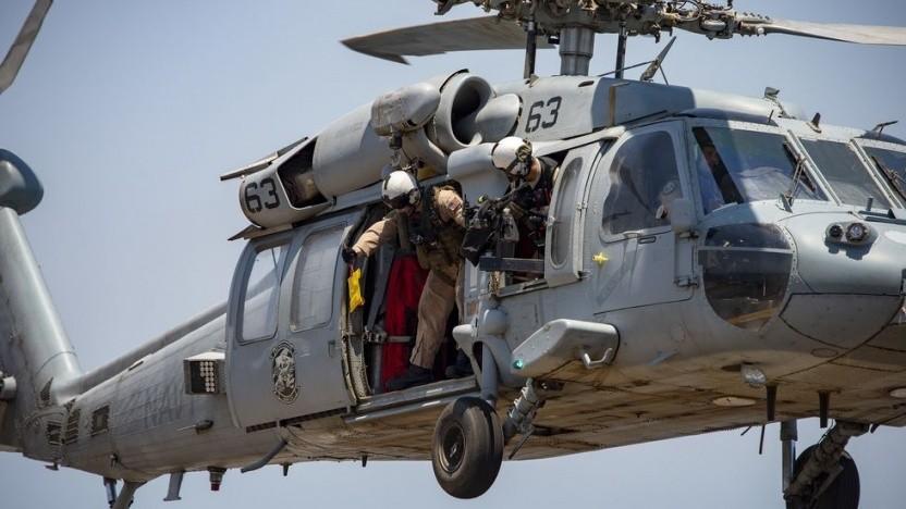 Per Hubschrauber: US-Marine testet analoge Nachrichtenübermittlung - Golem.de