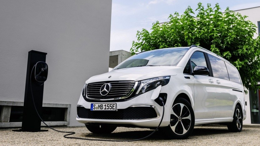 """Mercedes Benz EQV: positioniert als """"Premium-Großraumlimousine"""""""