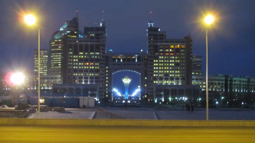 Keine Internetüberwachung mehr in Kasachstan, wie hier in der Hauptstadt Nursultan