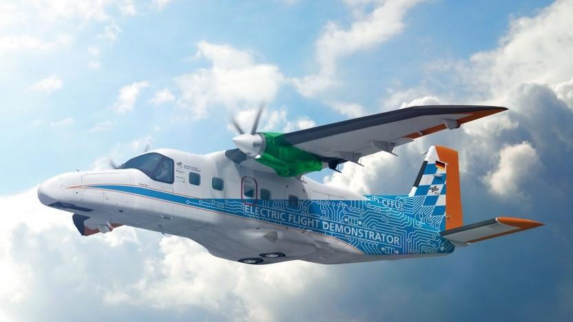 Die DO-228 des DLR soll zwei Hauptaufgaben der Luftfahrt meistern.