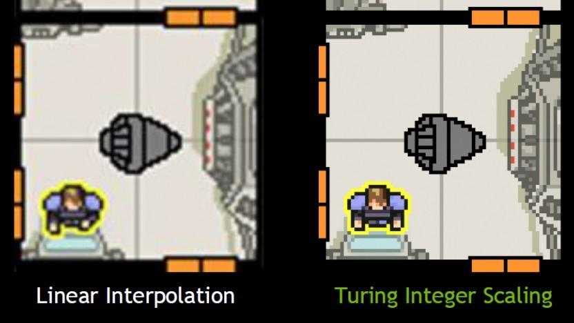 Integer-Scaling macht Pixel-Art hübscher