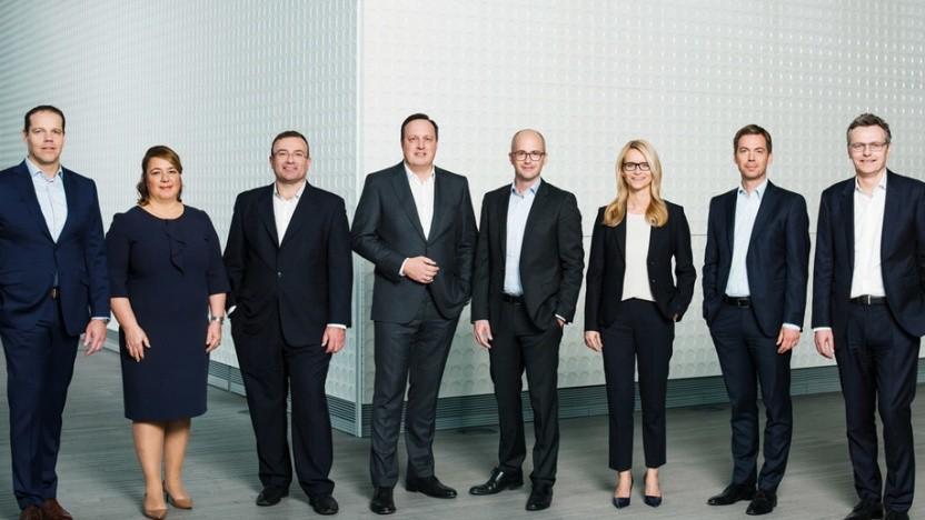 Experten für Stellenabbau: Der Vorstand der Telefónica Deutschland