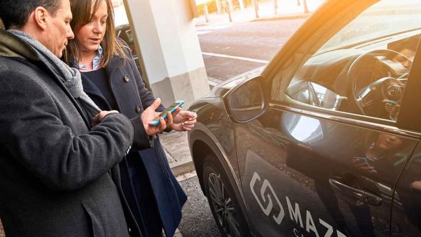 Choice bietet Carsharing per App an.
