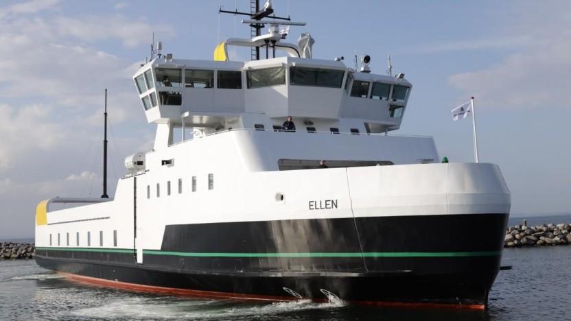 Elektrofähre Ellen: mit einer Akkuladung nach Søby und zurück