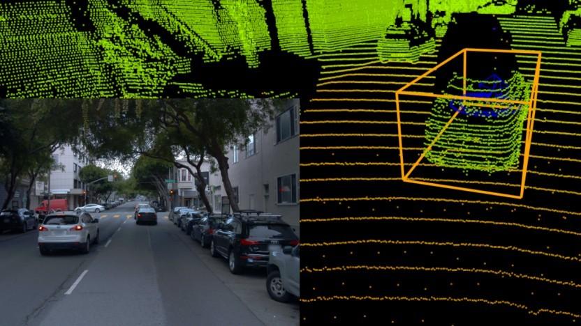 Waymo stellt gelabelte Verkehrsdaten zur Verfügung.