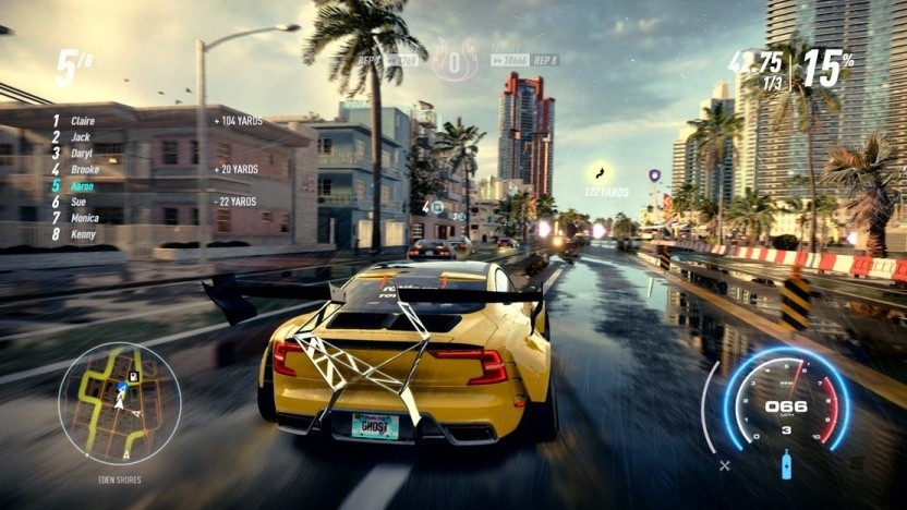 Artwork von Need for Speed Heat