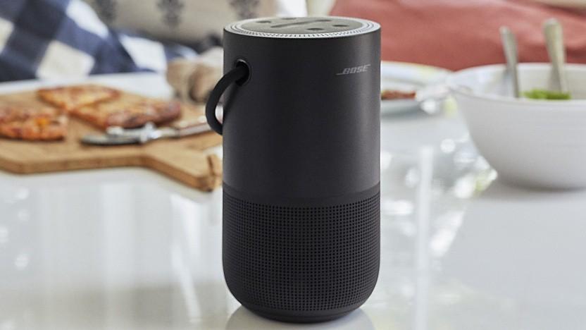 Portable Home Speaker soll zwölf Stunden Akkulaufzeit bieten.