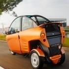 Carver: Elektro-Kabinenroller als Dreirad mit Neigetechnik