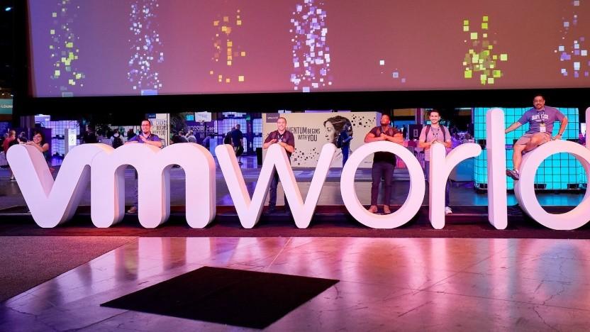 Hausmesse von VMware im Jahr 2018
