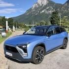 Elektroauto: Mit dem chinesischen Nio über die Alpen