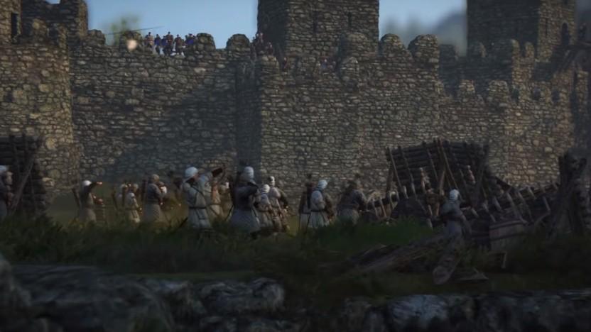 In Mount and Blade 2 müssen wir auch Belagerungsschlachten schlagen.