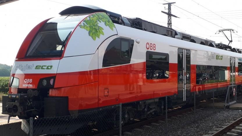 Der Cityjet Eco hat einen 528-kWh-Akku für Dieselstrecken.