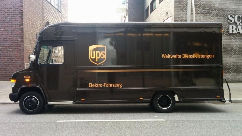 Elektrolieferfahrzeug von UPS (Symbolbild): erste Tests im Jahr 2007