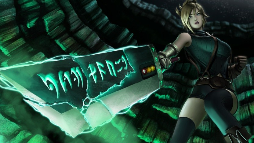 Riven ist eine der Heldinnen in Riots Spiel League of Legends.