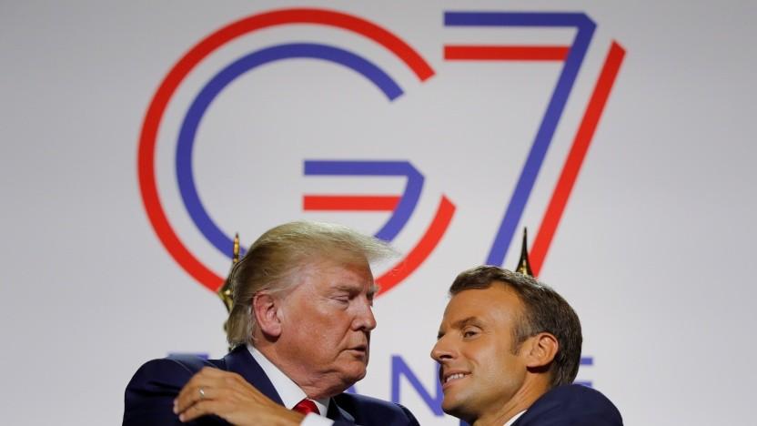 Einigung mit Trump: Frankreich könnte Digitalsteuer wieder zurückzahlen - Golem.de