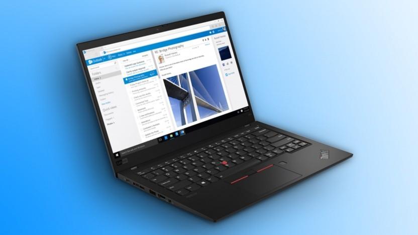 Das Thinkpad X1 Carbon Gen7 bekommt ein Prozessor-Update.