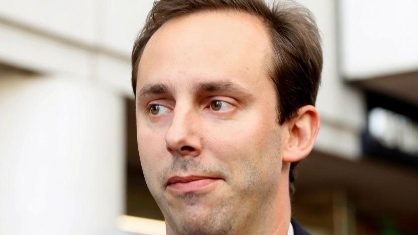 Anthony Levandowski bei der Anklageerhebung in San José