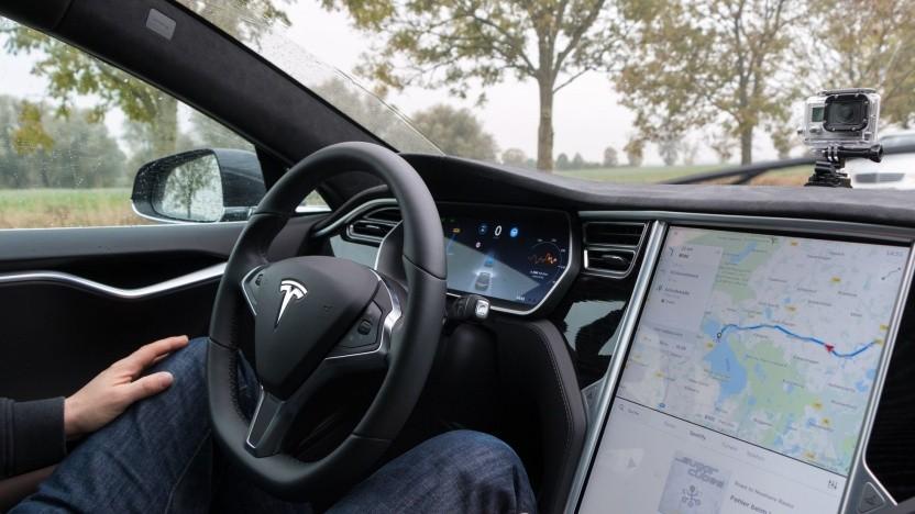 Mit einem geklonten Schlüssel konnte das Model S geöffnet und gestartet werden.